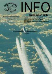 Dezember 2003 - Vereinigung Luftfahrt eV