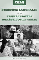 derechos laborales de los trabajadores domésticos en texas - Lamp