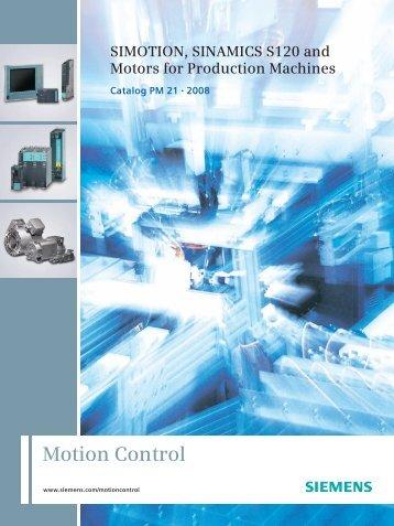 sinamics s120 - Industria de Siemens