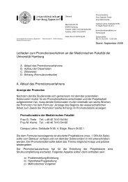 Leitfaden Promotionen_inkl. Formulare - Universitätsklinikum ...