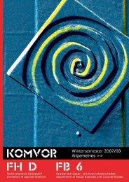 (Allgemeines) [PDF, 0,5 MB] - KomVor - Fachhochschule Düsseldorf