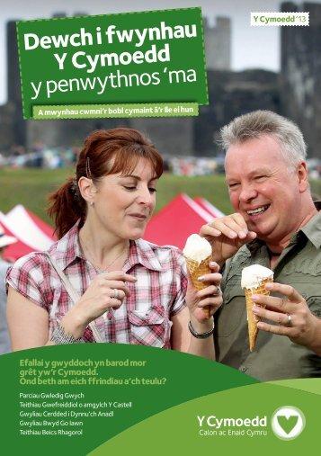 Dewch i fwynhau Y Cymoedd y penwythnos 'ma - The Valleys