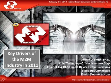 Key Drivers of the M2M Industry in 2011 - Numerex