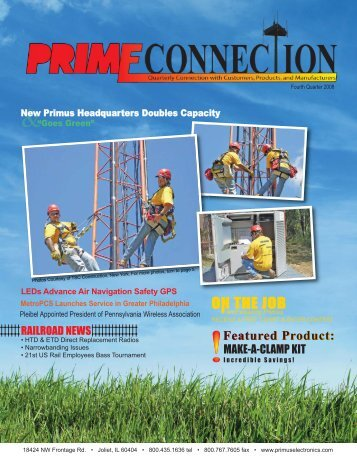 Fourth Quarter 2008 - Primus Electronics Corporation