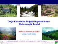 İklim Değişikliği ve Etkileri - Prof.Dr. Mehmet KARACA
