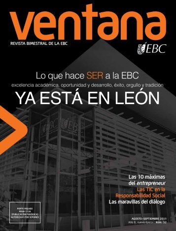 ventana EBC - Ediciones Universitarias