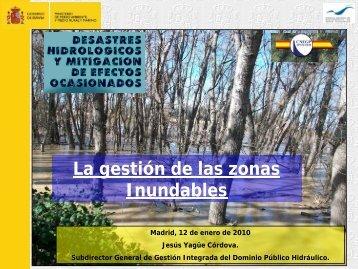 Gestión de zonas inundables - spancold