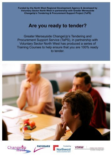 Download the brochure with dates and full details - Voluntary Sector ...