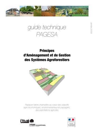 le guide technique PAGESA- Principes d ... - Arbre & Paysage