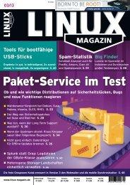 Linux-Magazin - Medialinx Shop