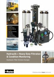 Hydraulik + Heavy Duty Filtration & Condition Monitoring