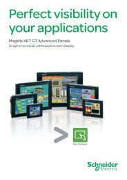 Download Magelis XBT GT Brochure - Schneider Electric