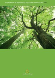 Corporate Social Responsibility Report 2011 - Roto Smeets Group