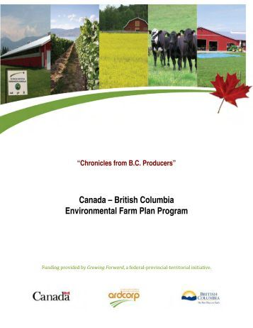 Canada – British Columbia Environmental Farm ... - District of Saanich