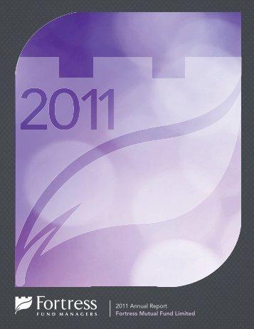 2011 Report - Fortress Mutual Fund Ltd