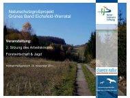 Vortragspräsentationen (PDF - Das Naturschutzgroßprojekt Grünes ...