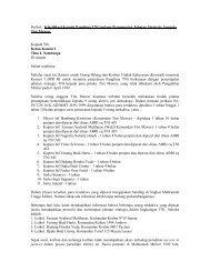 Surat Klarifikasi kepada Panglima TNI tentang ... - KontraS