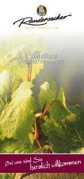 Winzerkeller Randersacker - GWF-Frankenwein