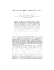 A Computational Model of Novel Association