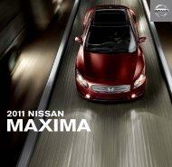 2011 Maxima