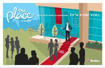 Download The Place at McAfee brochure - McAfee® - The Place