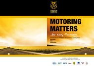 MOTORING MATTERS ...for every - Australian Automobile Association