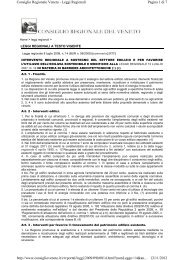Legge Regionale n. 14 del 08/07/2009 come modificata dalla L.R. ...
