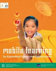 Mobile Learning for Expanding Educational Opportunities