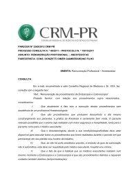 Parecer 2369/2012 - Conselho Federal de Medicina