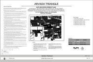 Arvada Triangle Outline Development Plan