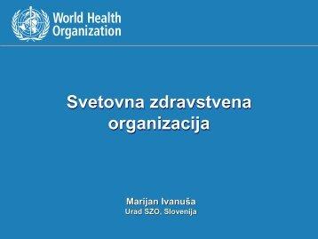 Svetovna zdravstvena organizacija - IVZ RS