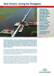 Read the full New Orleans Hurricane Storm and ... - Royal Haskoning