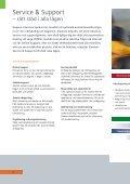 Service & Support – rätt stöd i alla lägen - Siemens - Page 2