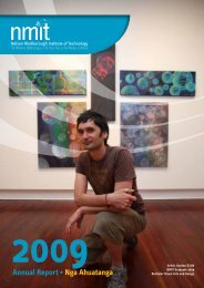NMIT Annual Report 2009