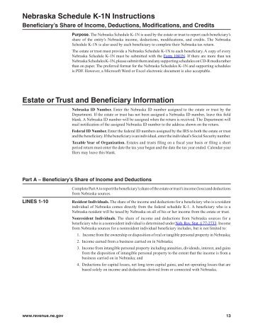 2021 K 1 Instructions For Trust Or Estate Beneficiary Form 1041 Bkd