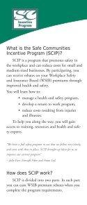SCIP brochure - wsib - Page 2