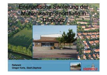 Energetische Sanierung der Mühl k S th ll i S th ll i Mühlenkamp ...