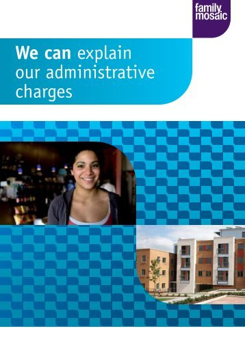 Administrative Charges brochure - Family Mosaic
