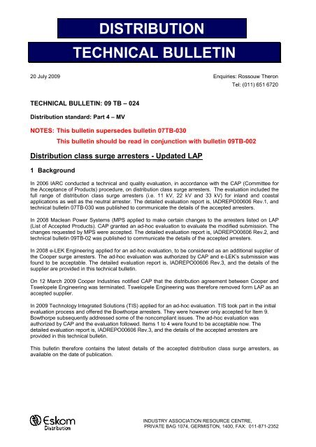 All about Tender Bulletin Eskom Home - r18worker info