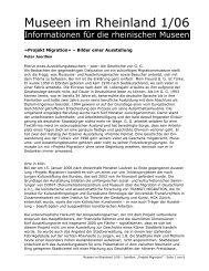 Projekt Migration« – Bilder einer Ausstellung - RheinischeMuseen ...