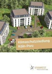 Klimaschutzsiedlung Köln-Porz - PBS-Partner