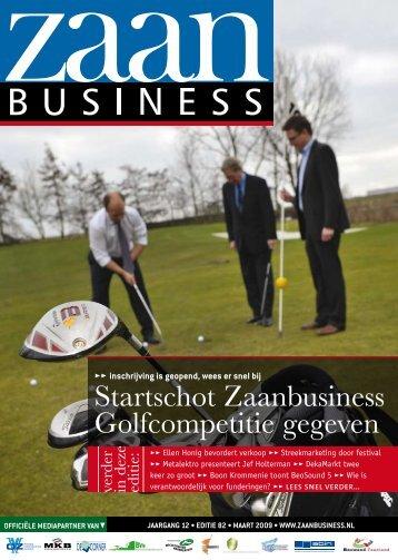 Startschot Zaanbusiness Golfcompetitie gegeven