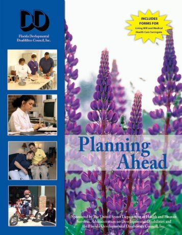 Planning Ahead - Florida Developmental Disabilities Council