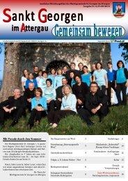 Mit Freude durch den Sommer - St. Georgen im Attergau - Land ...