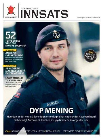 Innsats - 2. utgave 2012 - Forsvaret