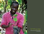 2011 Annual Report - Rainforest Alliance