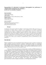 M.-E. BINET et A.GUENGANT - Edytem