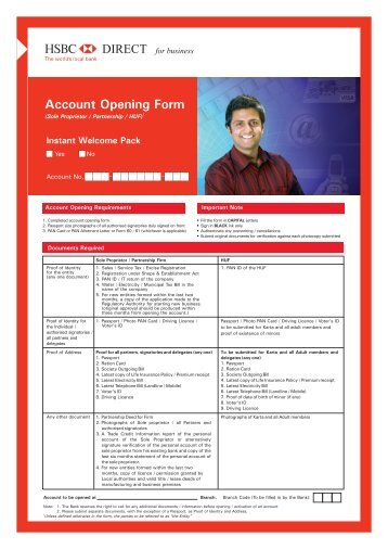 hsbc close account form uk