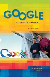 Google: The Company and Its Founders - Sharyland ISD