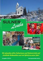 Gemeindezeitung 3/12 - Gemeinde Sulz